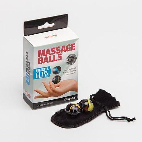 Стеклянные вагинальные массажные шарики