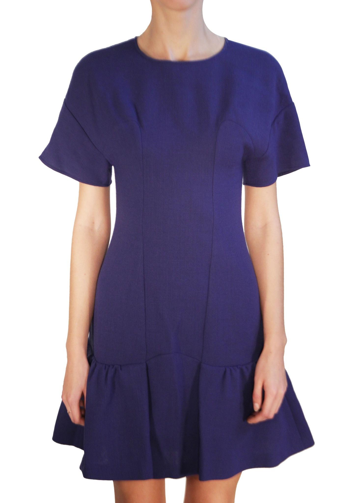 Платье из шерсти MOSCHINO CHEAP AND CHIC