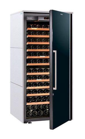 Винный шкаф EuroCave S Collection M белый хлопок, сплошная дверь, максимальная комплектация