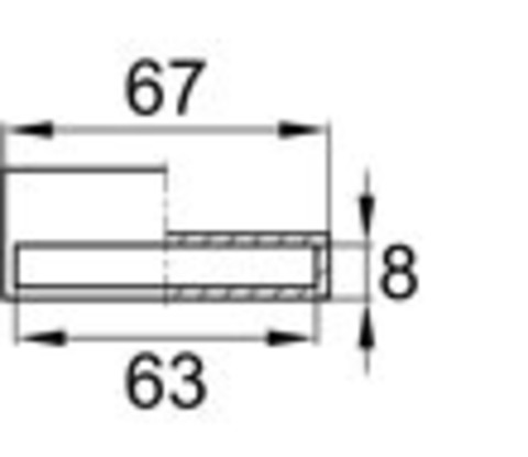 Латодержатель пристреливающийся 63 мм