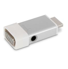 Адаптер Moshi HDMI to VGA с поддержкой аудио, AUX 3,5 mm