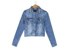 62077 куртка женская, джинсовая
