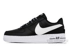 Кроссовки Nike Air Force 1 NBA Black White