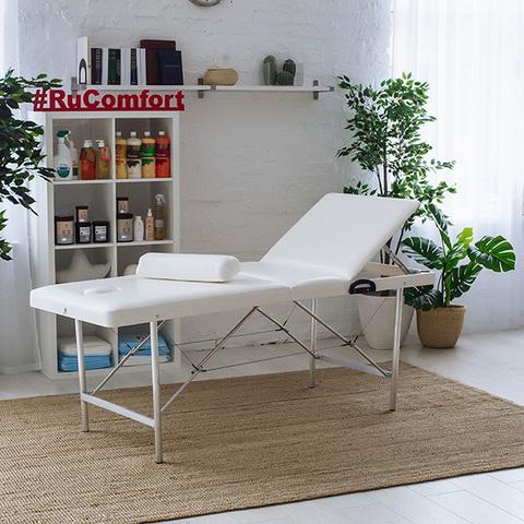 Складной массажный стол RuComfort (180х60x70) Comfort LUX 180