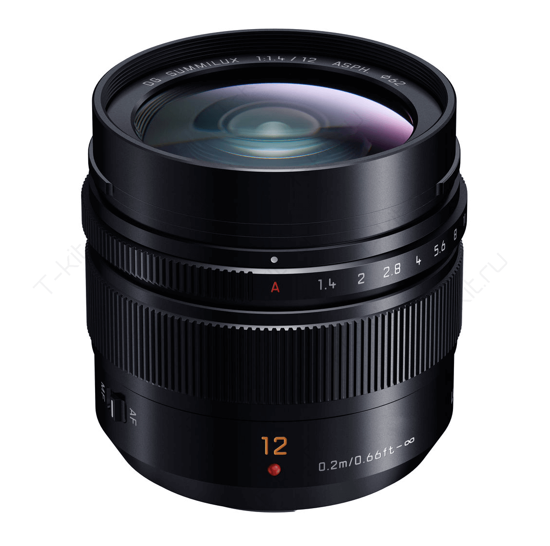 Panasonic 14-140mm вид сбоку