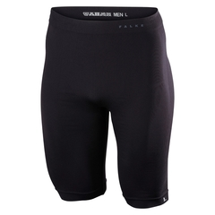 Falke Radlerhose Short Tight Warm schwarz