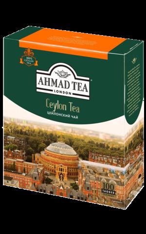 Ahmad tea Ceylon в пакетиках, 100 шт
