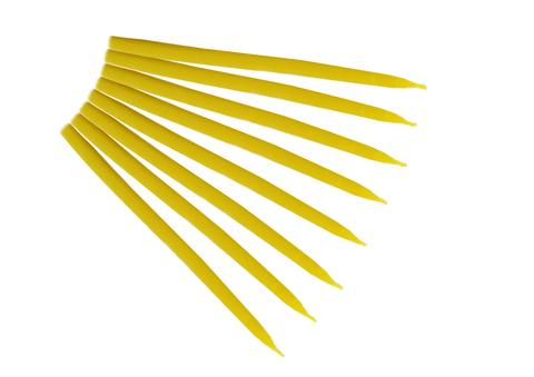 Свеча 1-часовая желтая