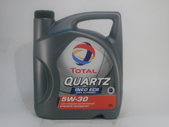 Масло Total Quartz Ineo ECS 5w-30 4 литра
