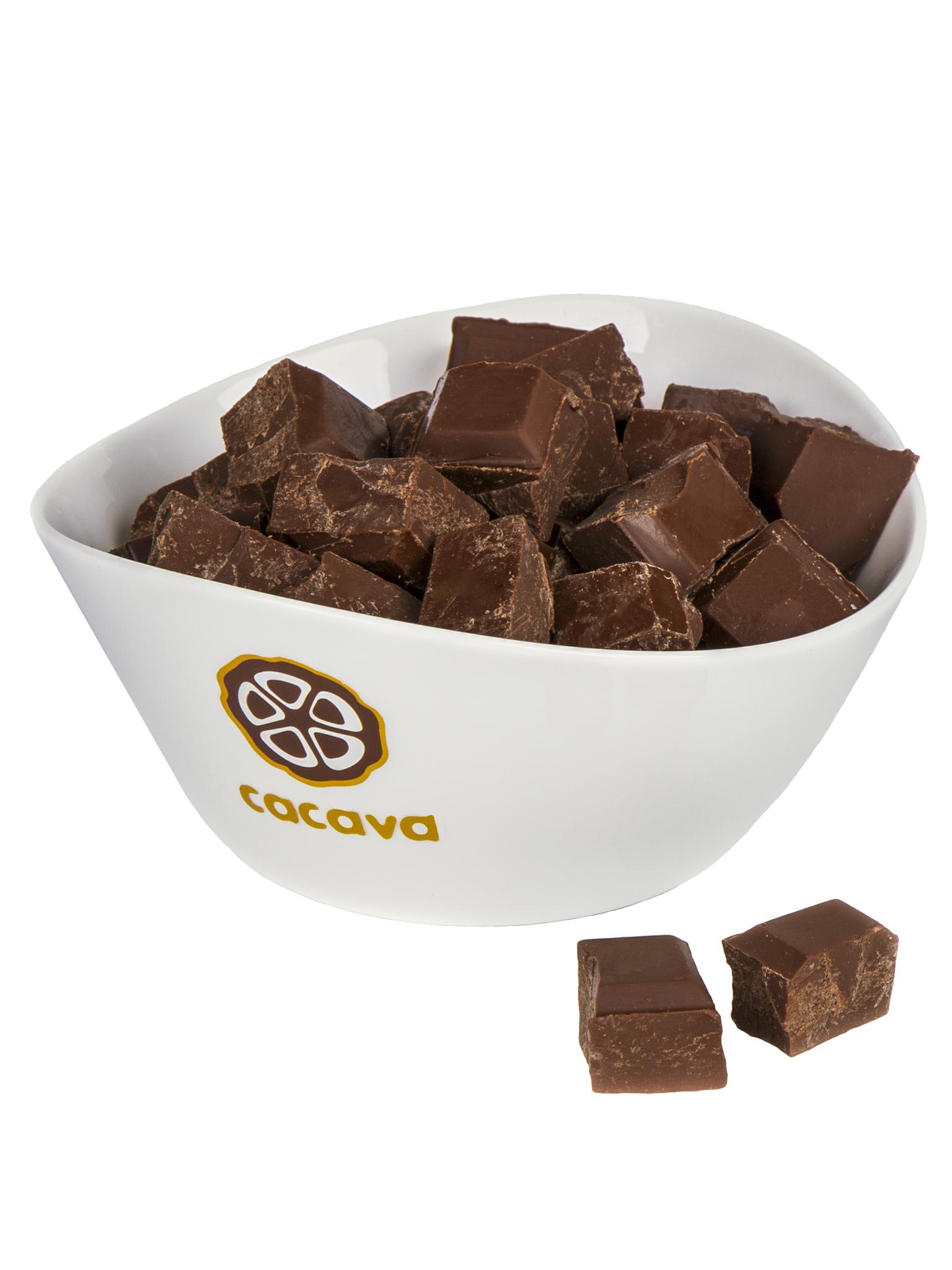 Молочный шоколад 50 % какао (Перу), внешний вид