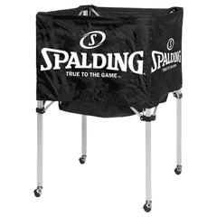 Тележка для баскетбольных мячей Spalding с сумкой для переноски