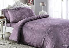 Постельное белье ARREDO фиолетовый  жаккард deluxe TIVOLYO HOME Турция