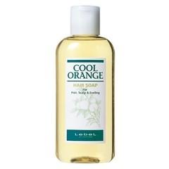 Lebel Cool Orange Hair Soap Cool - Шампунь для волос «Холодный Апельсин»