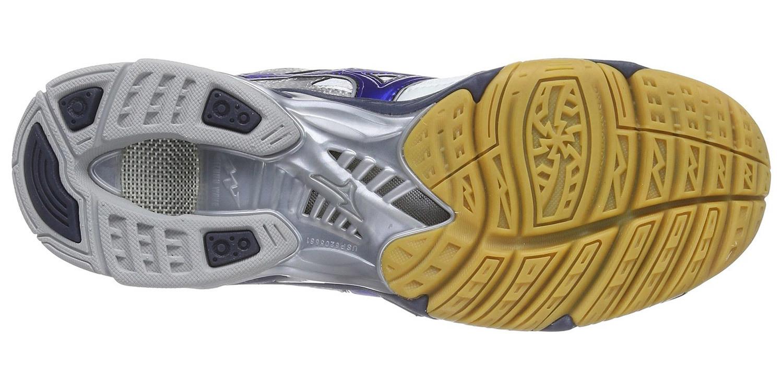 Мужские волейбольные кроссовки Mizuno Wave Bolt 4 (V1GA1560 24) синие фото