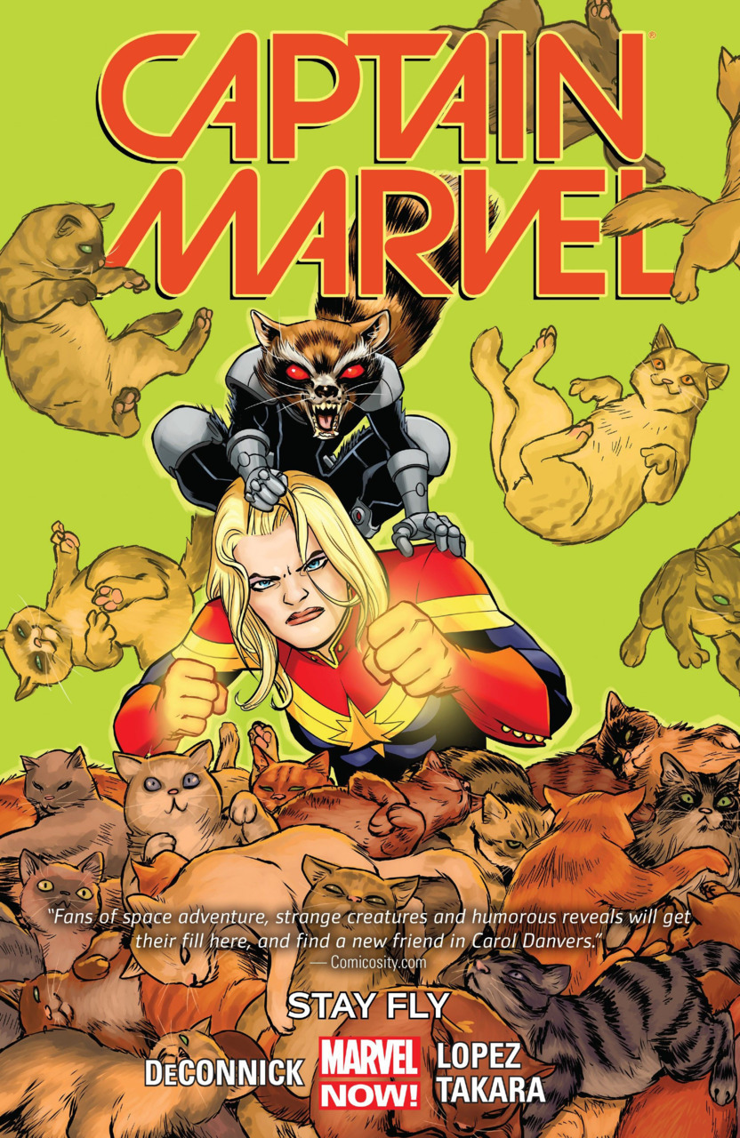 Captain Marvel TPB #2 Stay Fly (Marvel Now)
