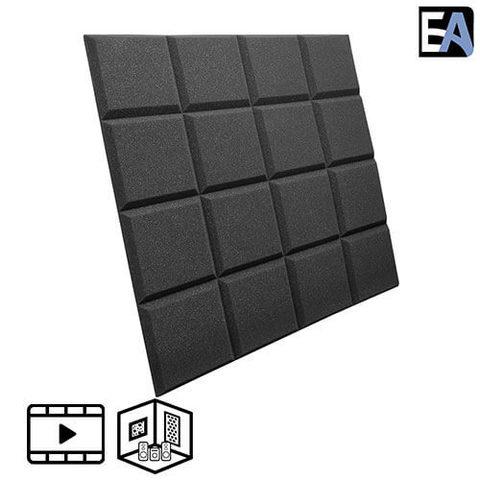 ECHO BLACK Акустический поролон Grid Чёрный