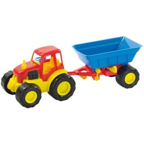 Трактор «Active», с прицепом