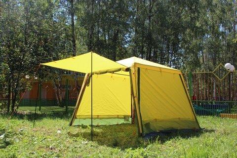 Тент-шатёр для туризма и кемпинга RockLand Shelter 290, 290x290x220 см