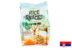 Снеки рисовые с оливковым маслом и куркумой BenlianFOOD, 50г