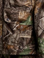 куртка для охотника с капюшоном на молнии