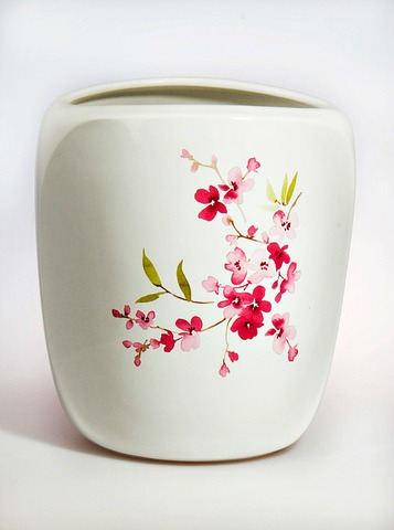 Ведро для мусора Croscill Living Cherry Blossoms