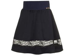 2233-1 юбка детская, темно-синяя