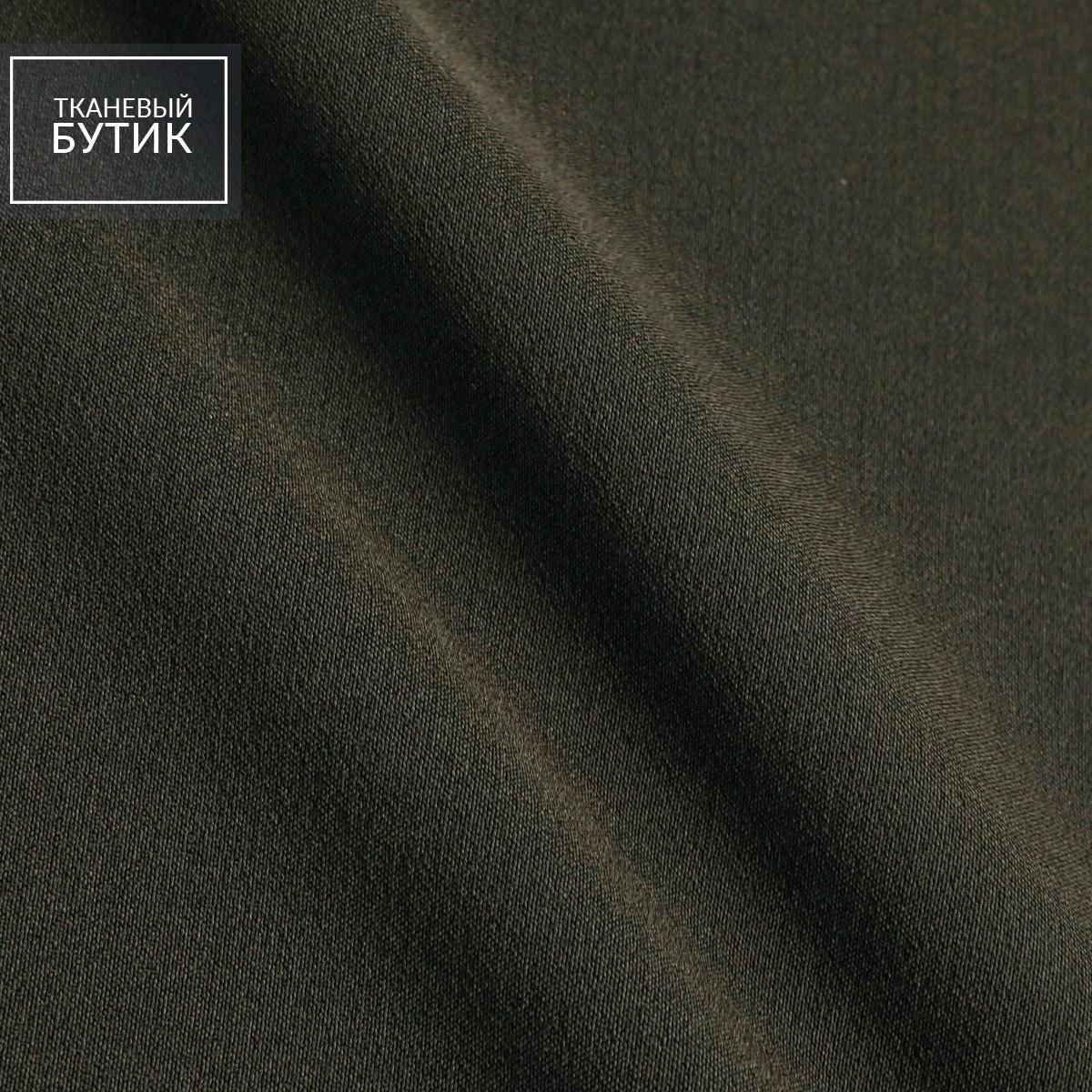 Черный синтетический креп