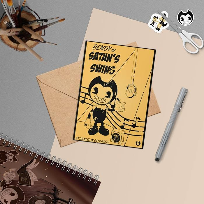 Открытка BENDY IN SATAN'S SWING - kinoshop24.ru