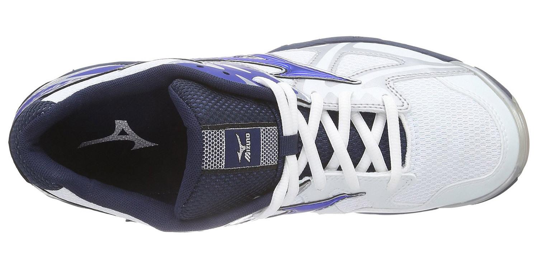 Мужские волейбольные кроссовки Мизуно Wave Bolt 4 (V1GA1560 24) синие фото