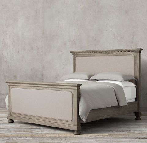 St. James Upholstered Bed With Footboard