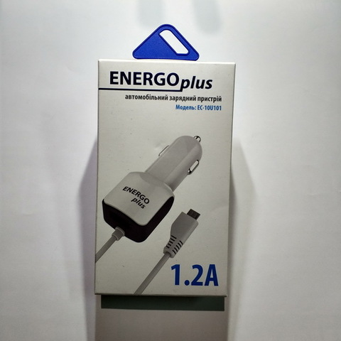 АЗУ Энерго+ EC-10U101 с кабелемм microUSB 1.5A