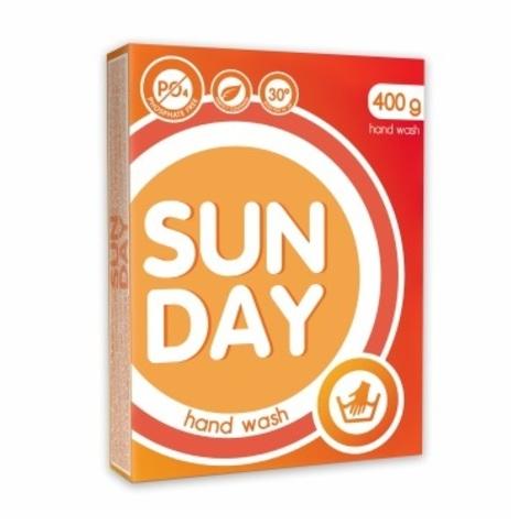 Сонца Sunday Стиральный порошок для ручной стирки Универсальный 400 г