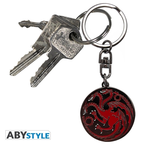 Брелок ABYstyle: Game of Thrones: Targaryen ABYKEY011