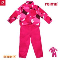 Флисовый комплект Reima Vilske 516216-4831 BERRY PINK