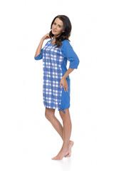 Синяя сорочка размер S(42)