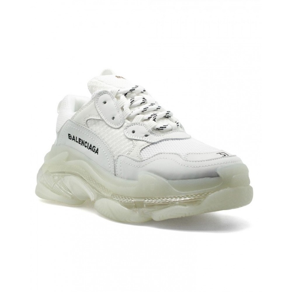 Balenciaga Triple S 2.0 White 2019 Clear Sole