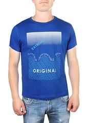 17615-6 футболка мужская, синяя