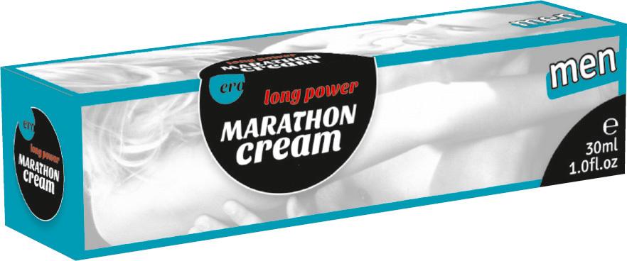 Пролонгаторы: Пролонгирующий крем для мужчин Long Power Marathon Cream - 30 мл.