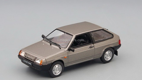 VAZ-2108 Satellite 1984-2003 gray 1:43 DeAgostini Auto Legends USSR #264