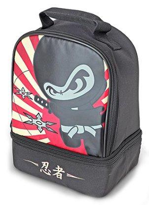 Термосумка детская Thermos Ninja Dual (черная)*