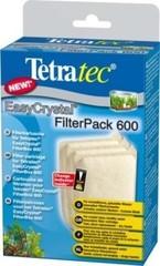 Фильтрующие картриджи без угля , Tetra EC 600, для внутреннего фильтра EasyCrystal 600, 3 шт.