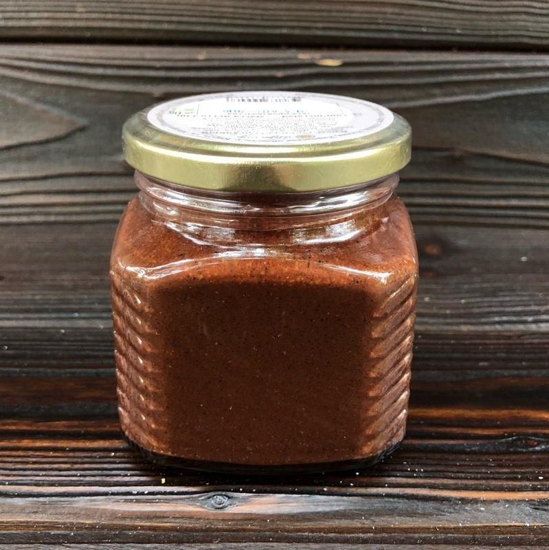 Фотография Урбеч крем-халва шоколадная, 230 г купить в магазине Афлора