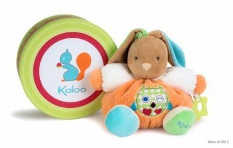 Kaloo. Мягкая игрушка Зайка рыжий Сова
