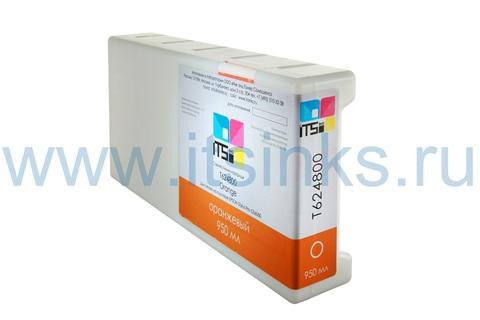 Картридж для Epson GS6000 C13T624800 Orange 950 мл