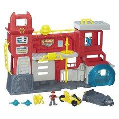 Игровой Набор Playskool Штаб Спасателей (Griffin Rock Firehouse Headquarters) - Боты Спасатели (Rescue Bots), Hasbro
