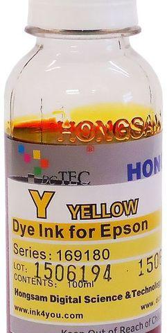 Чернила водные DCTec R1800YD Yellow 100мл. Серия 169180
