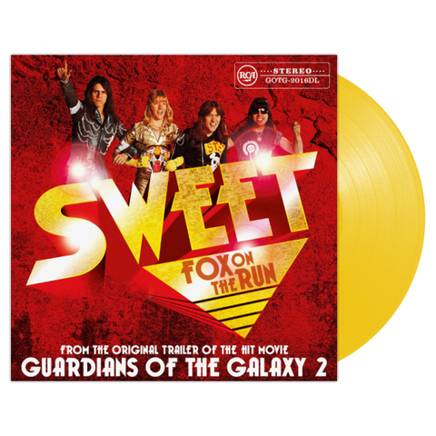 Sweet ‎/ Fox On The Run (Coloured Vinyl)(12