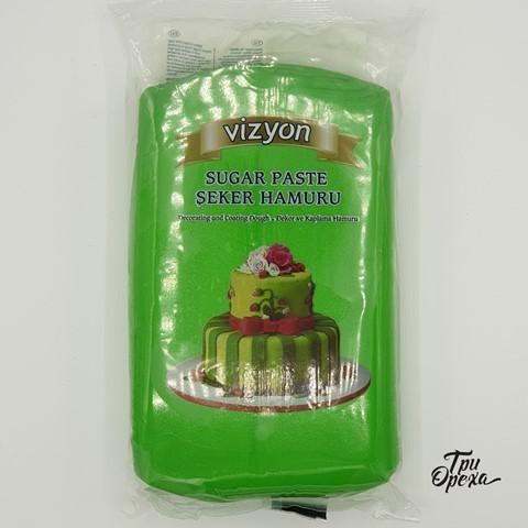 Паста для лепки Мастика зеленая Polen (Vizyon), 1 кг.