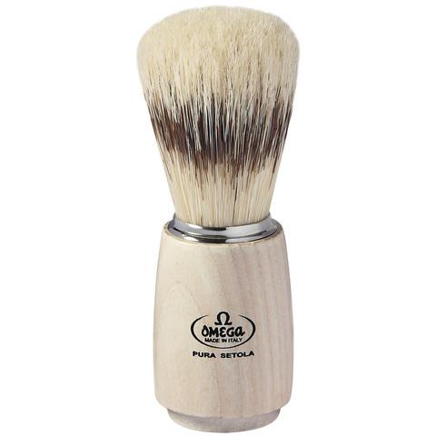 Помазок для бритья Omega 11711 натуральный кабан