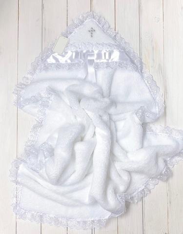 Крыжма Бантик белая